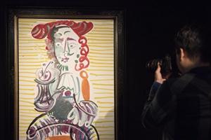 逾40幅畢加索與康多肖像畫作品亮相香港