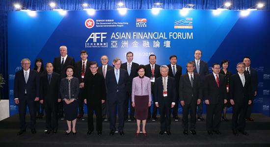仇鴻出席第十二屆亞洲金融論壇