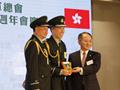 王志民主禮香港青少年軍總會大樓開幕典禮並致辭