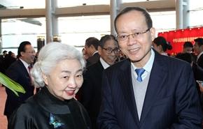 楊健副主任與來賓交談